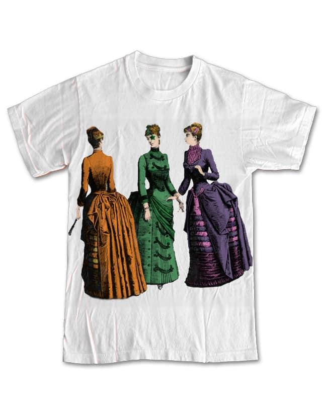 1880s Glam by CoolMinded on Threadless