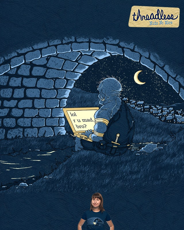 The Troll Under the Bridge by L-M-N-O-P on Threadless