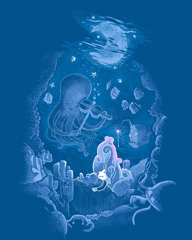 Sleeping With The Fishes by queenmob on Threadless