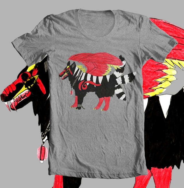 ZEROWOLF by Icefirestorm on Threadless