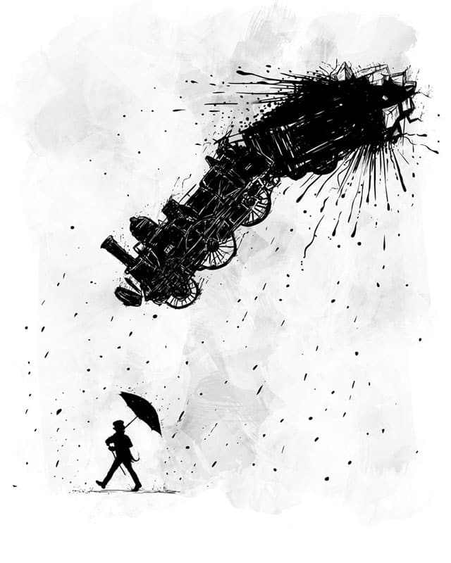 It's a trainy day! by fuloprichard on Threadless