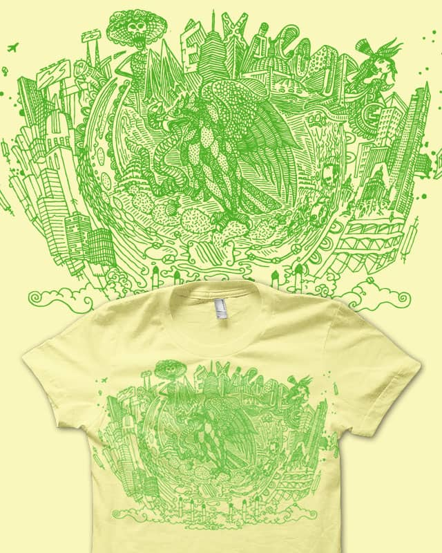 Mexico City by amarillo on Threadless