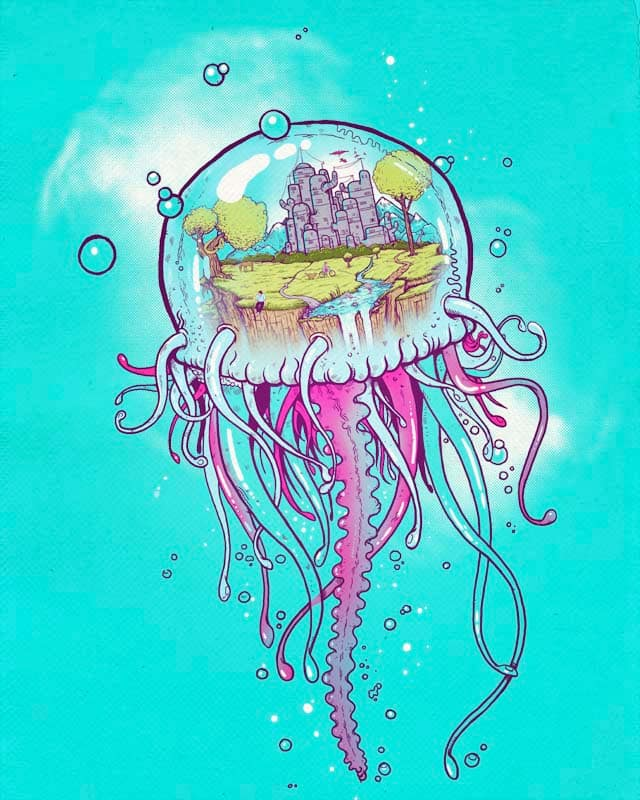 Jellyworld by MadKobra on Threadless