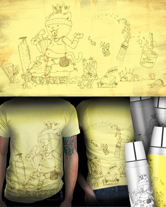 Kitty Litter by fuloprichard on Threadless