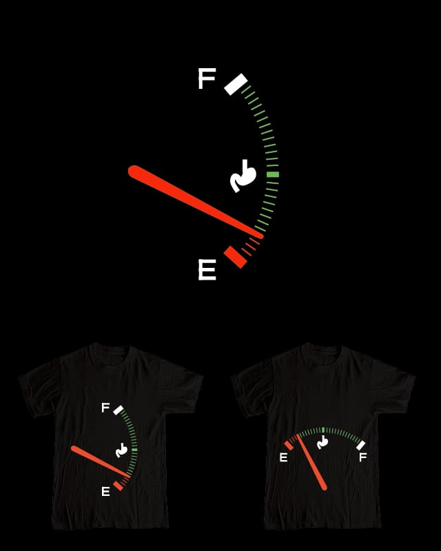 Running on empty by Montro on Threadless