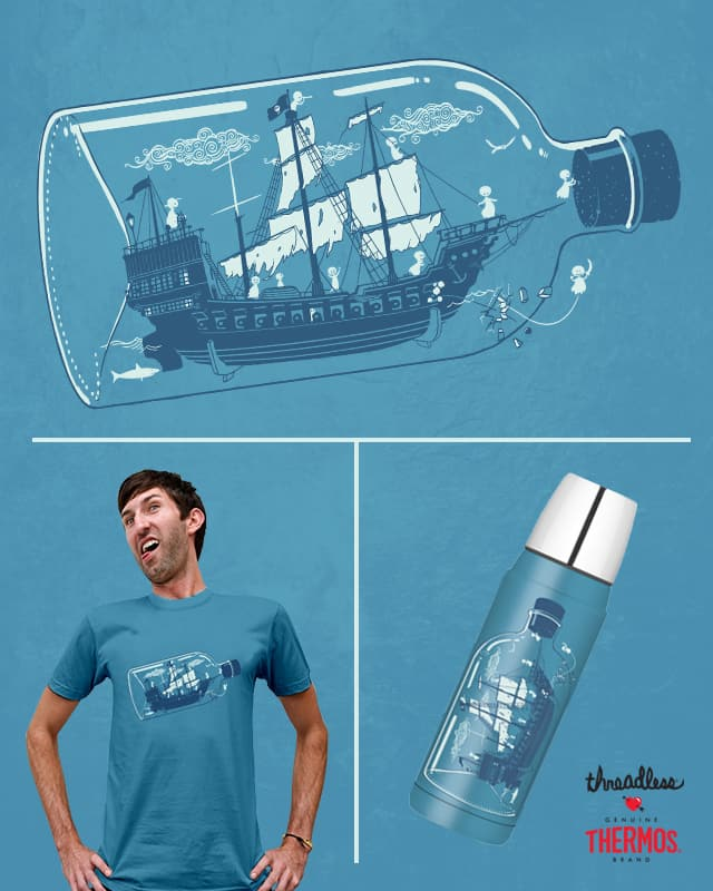 Little Ghost Ship by Anything Goes on Threadless