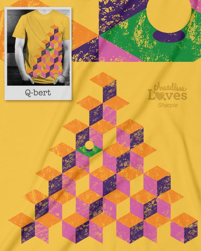 Remember Qbert by D-maker on Threadless