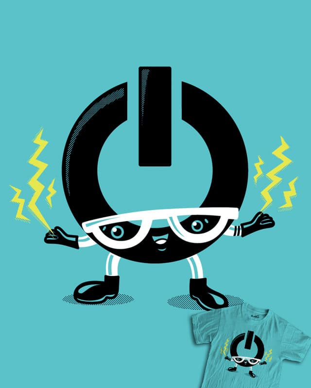 Powwweerrr! by Recycledwax on Threadless