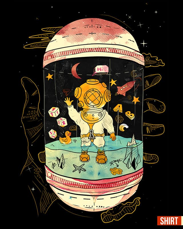 Unlock your Imagination by choppre on Threadless