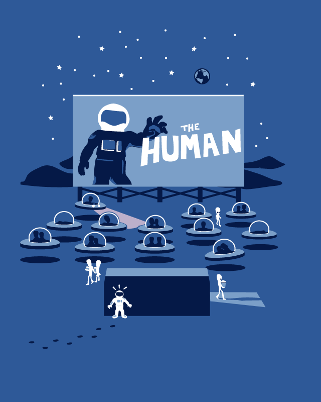 It Came From Earth! by nathanwpyle at gmail.com on Threadless