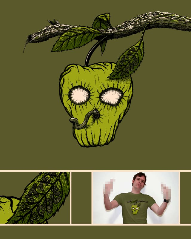 Rotten Apple by CreativeSquall on Threadless