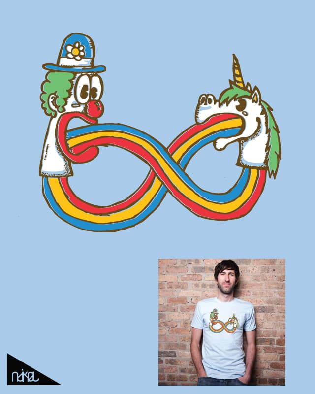Rainbow Forever by ndikol on Threadless