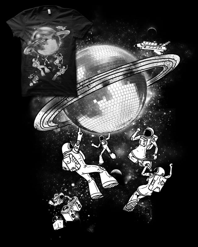 Intergalactic Disco by biotwist on Threadless