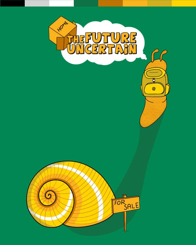 The Future Uncertain by hodo on Threadless