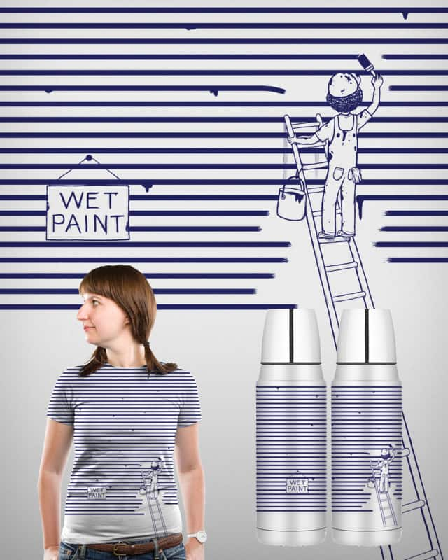 painting stripes by boostr29 on Threadless