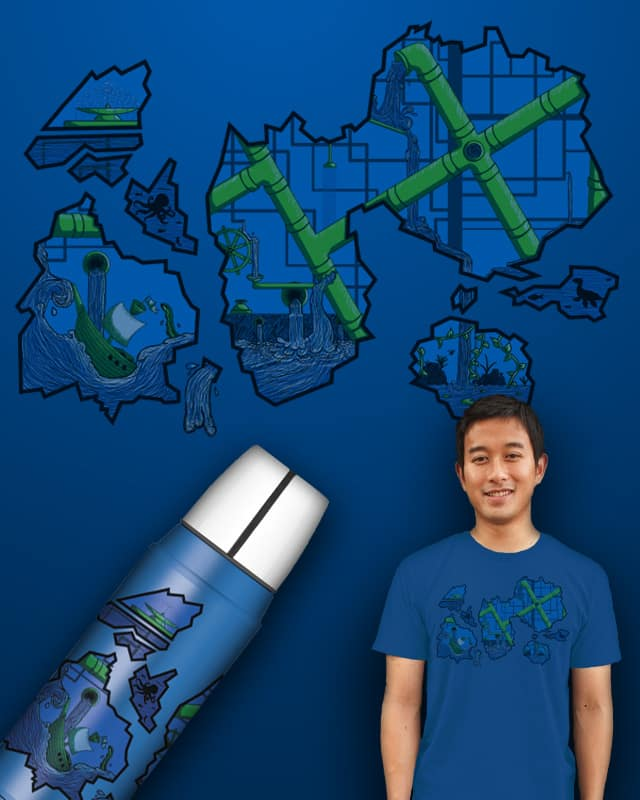 The Inside of a Pipe Dream by dannodepf on Threadless