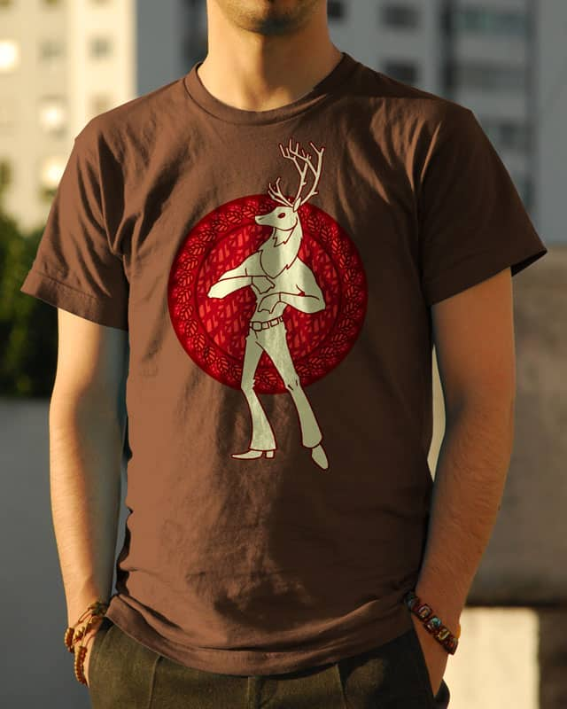 Forest Dancing King by ivanrodero on Threadless