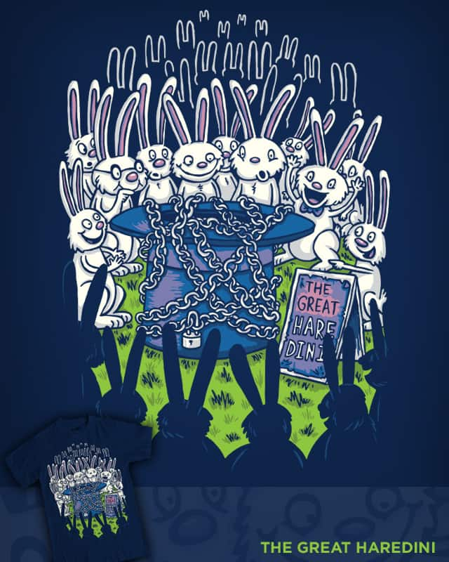 The Great Haredini by WanderingBert on Threadless