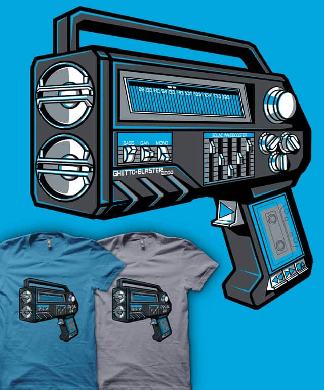 GHETTOBLASTER3000 by MEKAZOO on Threadless