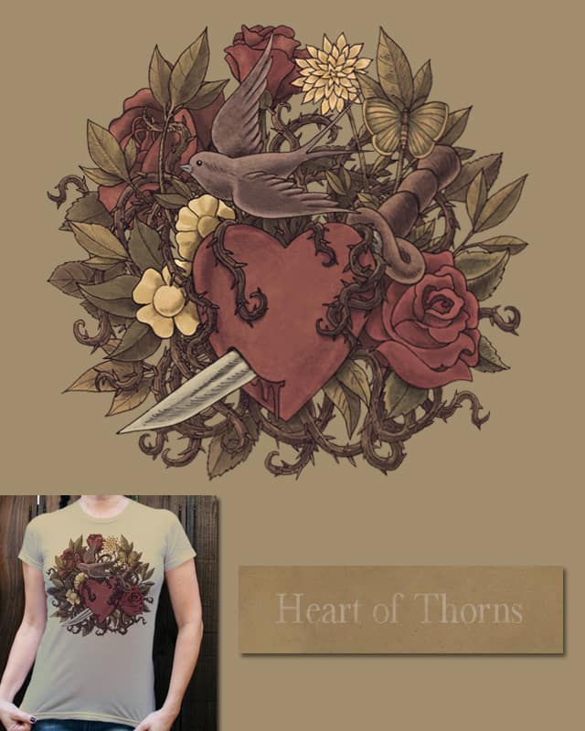 Heart of Thorns by igo2cairo on Threadless