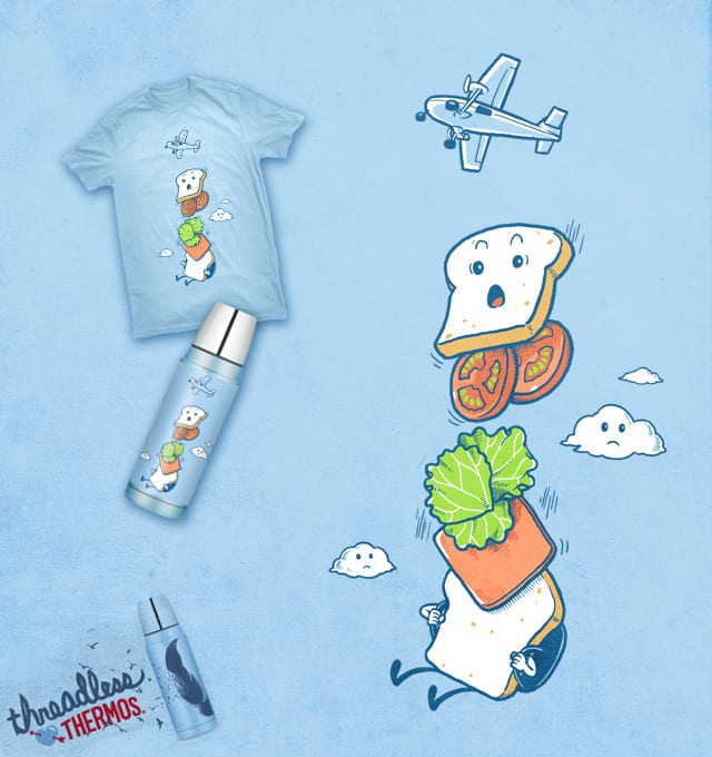 mid air disintegrated by ben chen on Threadless
