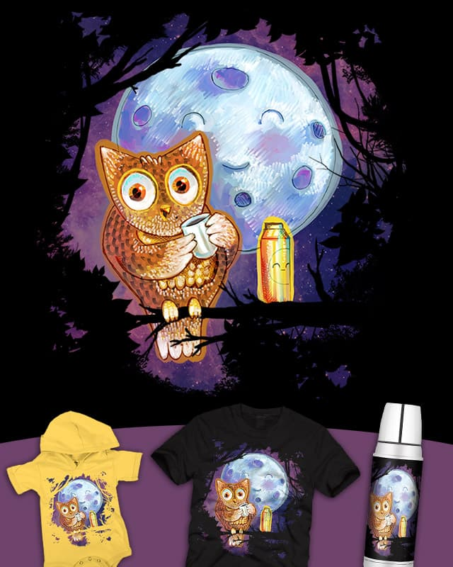 Night Shift by JessyQueChido on Threadless