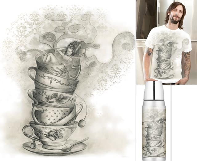 Tea bath by J_Kiss on Threadless