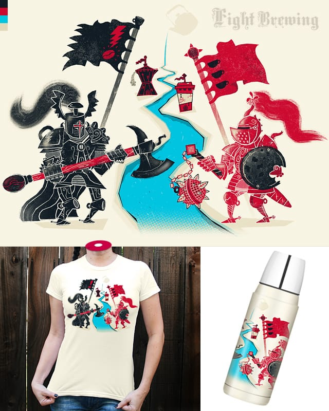 Fight Brewing by HtCRU on Threadless