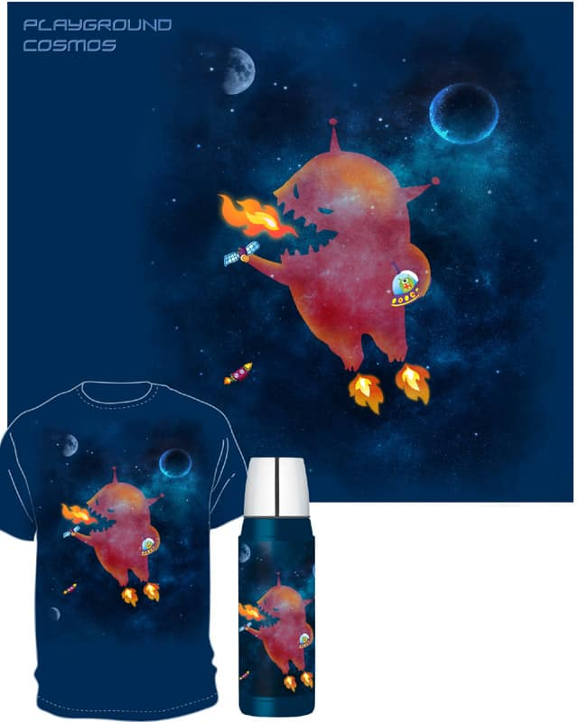 Playground Cosmos by monkeypim on Threadless