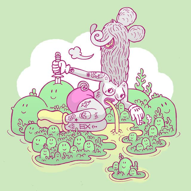 island paradise by sweet n sour on Threadless