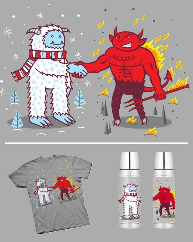 Hot and Cold BFF's by groovy4ya on Threadless