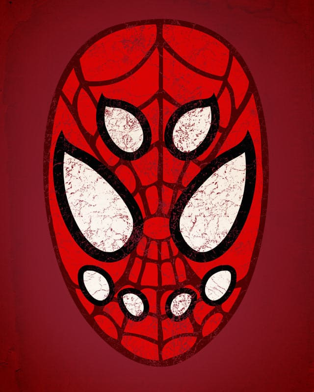 A Hero's True Mask by alvarejo on Threadless
