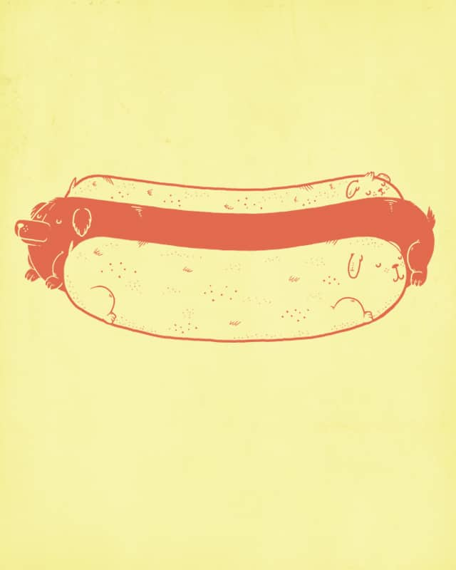 Let sleeping dogs lie (and be delicious) by randyotter3000 on Threadless