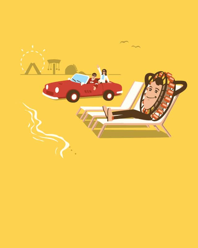 Ferris Wheeler's Day Off by nathanwpyle at gmail.com on Threadless