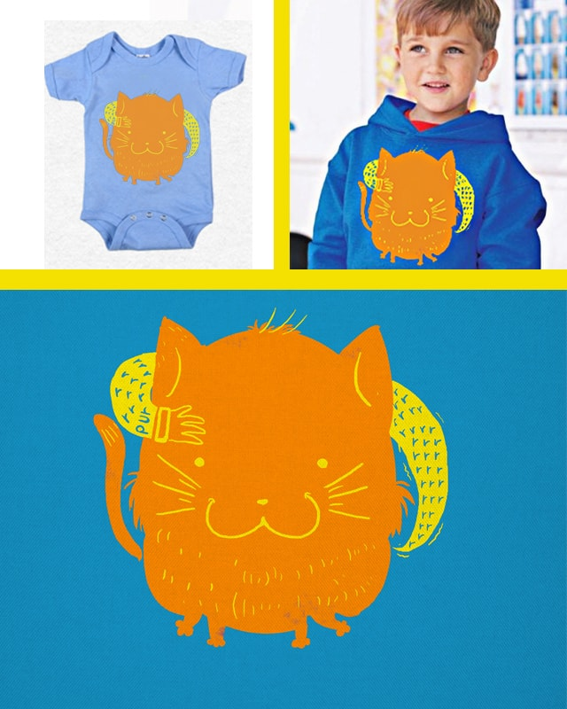 hug me purrrrrease by mecha-chiken on Threadless