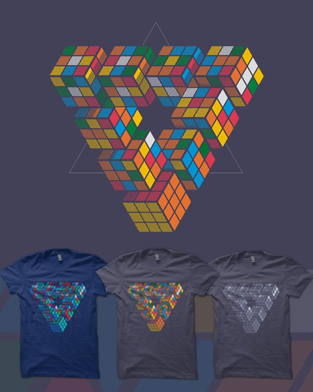 Impuzzable Triangle by quick-brown-fox on Threadless
