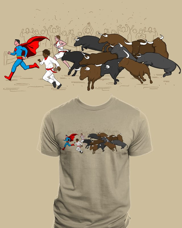 Faster than a... by Resistance on Threadless