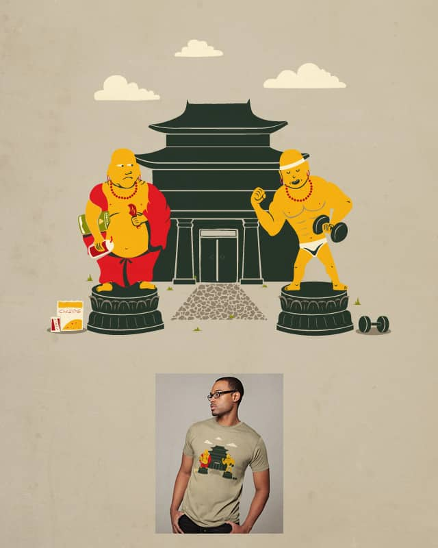No More Buddha Belly by FRICKINAWESOME on Threadless