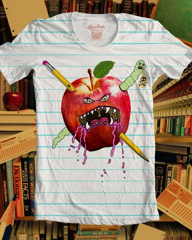 Schoolz OUT! by kennybanzai on Threadless