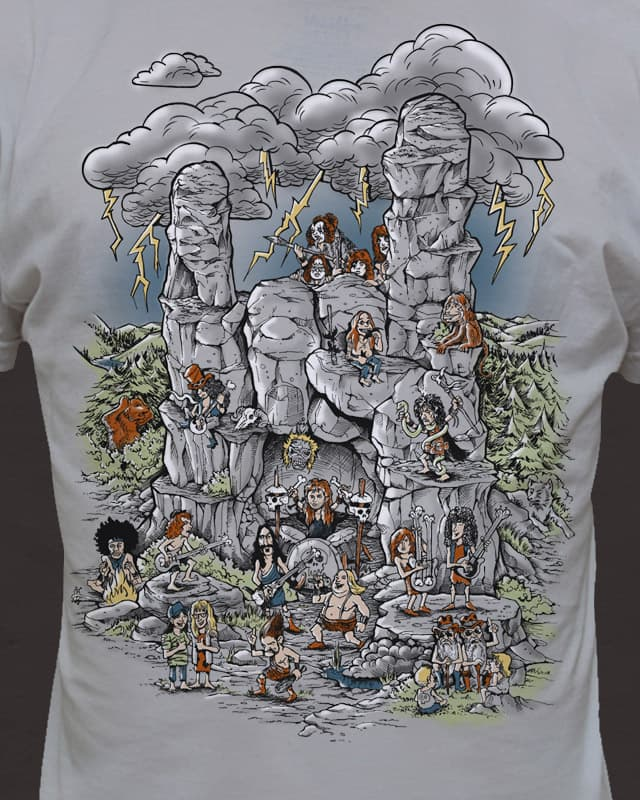 THE (HARD) ROCK AGE by badbasilisk on Threadless