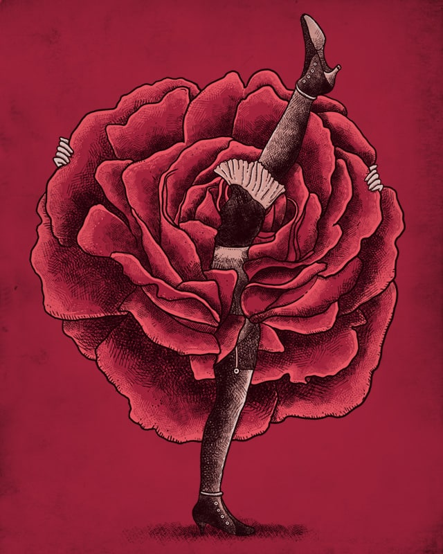 Blooming Dance by alvarejo on Threadless