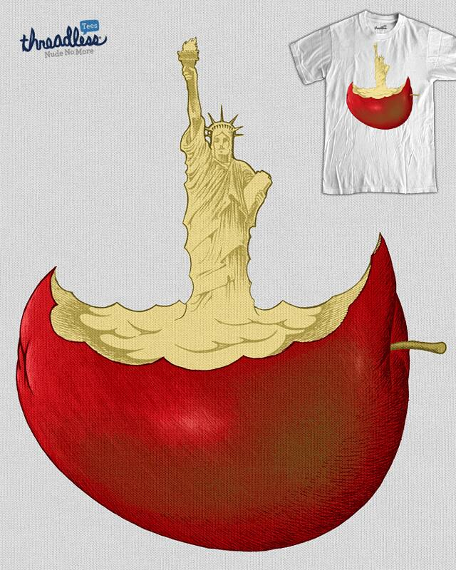 Big Apple by RicoMambo on Threadless