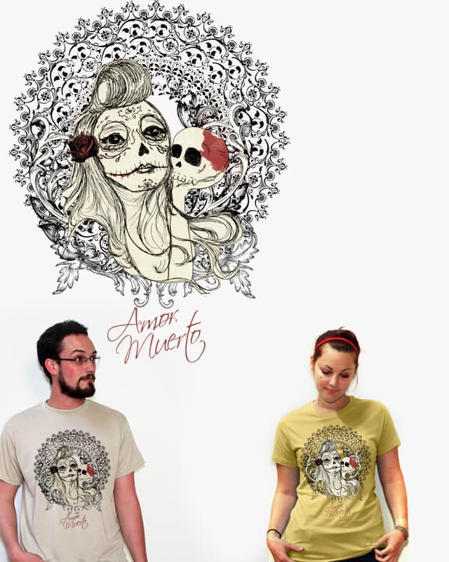 Dia de los Muertos by nadiuska on Threadless