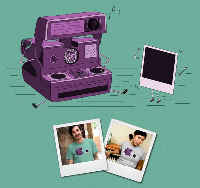 Shake It Like A Polaroid Picture by TeoZ on Threadless