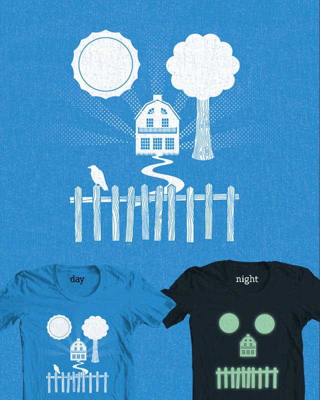 My Summer in Amityville by quick-brown-fox on Threadless