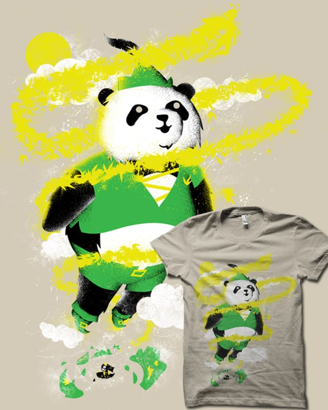 Peter Panda by biotwist on Threadless