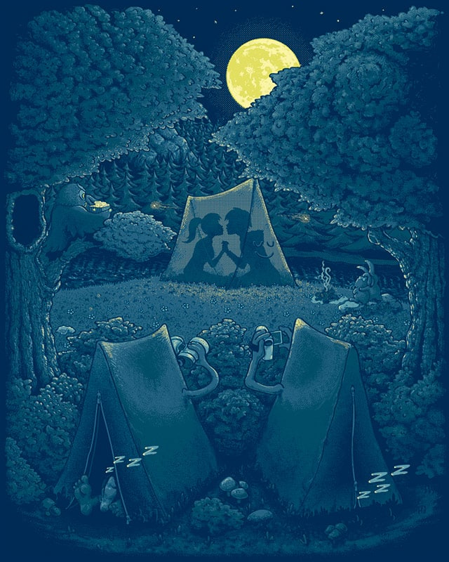Peepin' Tents by Tony Centeno on Threadless