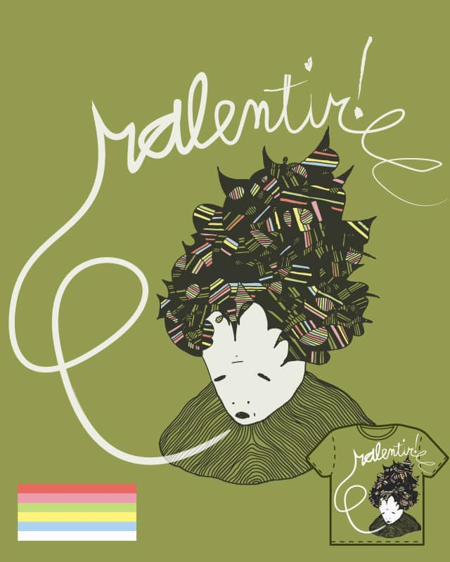 ralenti! by greenescalator on Threadless