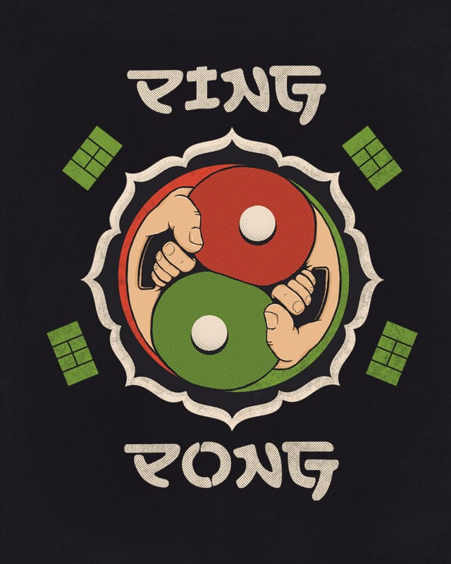 Ping and Pong by murraymullet on Threadless