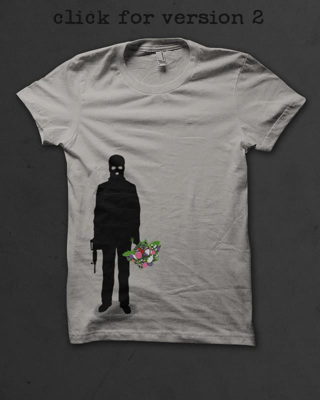 Le Bouquet by speakerine on Threadless